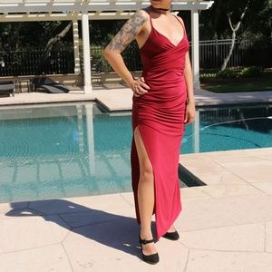 Red Formal ASOS Maxi Dress